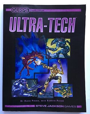 GURPS Ultra-Tech - 4th Fourth Edition - 3rd / 3rd - Softback Softcover