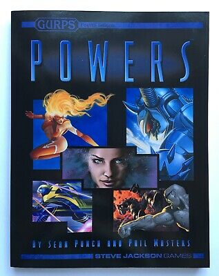 GURPS Power - 4th Fourth Edition - 1st / 3rd - Softback Softcover