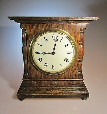 Rare Edwardian Zenith Mantel ( Mantle ) Clock