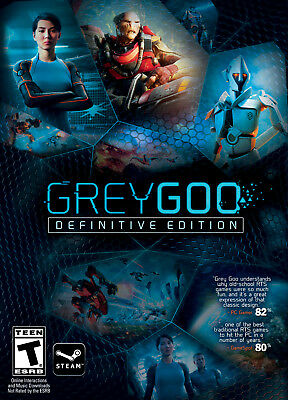 Grey Goo Definitive Edition - STEAM KEY - Code - Download - Digital - PC