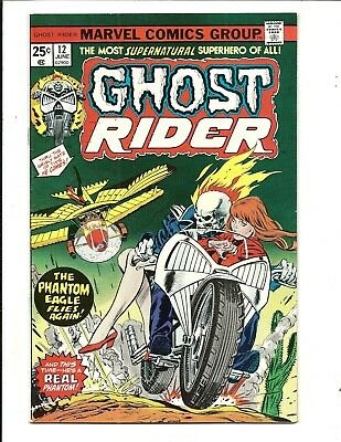 GHOST RIDER (Vol.1) # 12 (CENTS ISSUE, JUNE 1975), VF