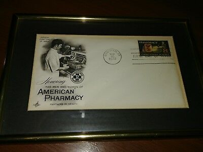 USPS First Day of Issue Stamp. Honoring American Pharmacy Men/Women 1972
