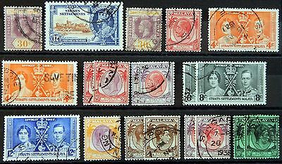 Straits Settlements British Colony George Lot XIV