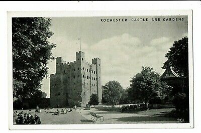 CPA - Carte postale -Royaume Uni Rochester-- Castle and Gardens VM2443