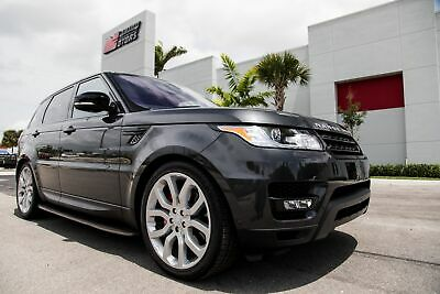 2016 Range Rover Sport Supercharged Dynamic 2016 RANGE ROVER SPORT SUPERCHARGED DYNAMIC - ONLY 5K MILES - WELL OPTIONED
