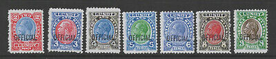 Gerald King Alternative Lundy - GV Definitives with OFFICIAL overprint