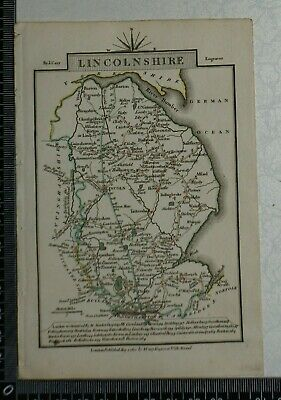 1810 - John Cary Map of the County of Lincolnshire