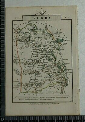 1810 - John Cary Map of the County of Surrey