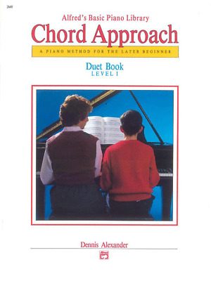 Alfred's Chord Approach Duet Book, Level 1