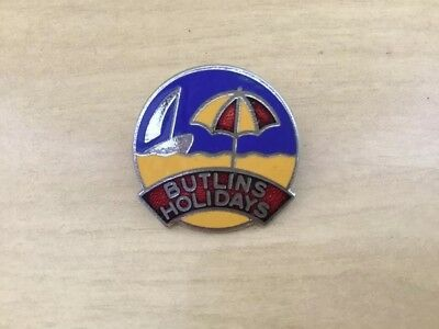 Vintage Fattorini and Sons Butlins Holiday Badge 1960's