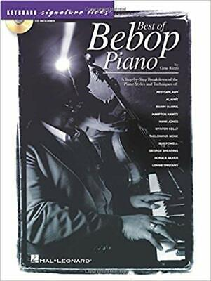 Best of Bebop Piano : Keyboard Signature Licks by Gene Rizzo, includes CD