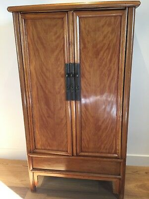 REDUCED TO SELL Tall Antique Ming Style Chinese Cabinet