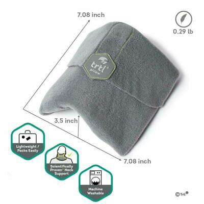 Trtl Pillow ~ Scientifically Proven Soft Neck Support Travel Pillow Grey