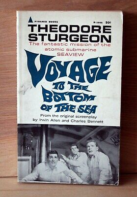 1964 Pyramid 3rd print VOYAGE TO THE BOTTOM OF THE SEA by Theodore Sturgeon VG