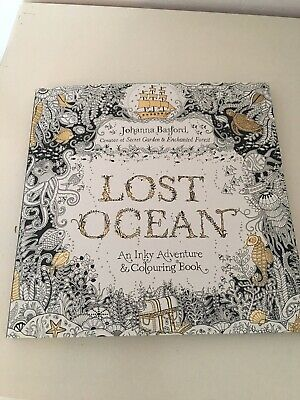 Pattened Colouring Book For Adults Lost Ocean