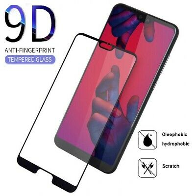 100% Genuine Huawei P20 , P20 Pro Full 9D Tempered Glass Screen Protector Cover