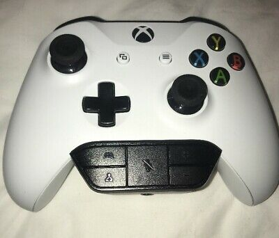 Microsoft Xbox One Wireless Bluetooth Controller -White New No Box +Headset Port