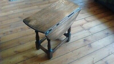 Gate-Leg / Drop Leaf Table Victorian Oak