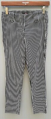 VINTAGE 90's LUCY Stripe Pant Sz 6 XXS Cotton Stretch Cigarette Womens EXC COND