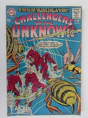 Vg+ Silver Age Dc Comic Challengers Of The Unknown # 40 Oct-Nov 1964