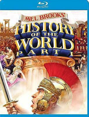 New Mel Brooks History Of The World Part 1 Blu Ray  Free Fast 1St Cls S&H S&H