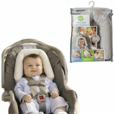 Baby/Infant Soft Plush Padding Head/Neck Support for Car seat/Carrier/Stroller
