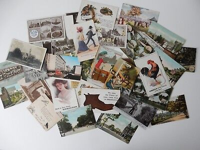 29 Birmingham Postcards Comic/rppc/printed All Photographed *take Your Pick* 1