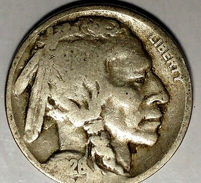 "1926-P 5C Buffalo Nickel 18cl0501-1a  ""Only 50 Cents for Shipping"""