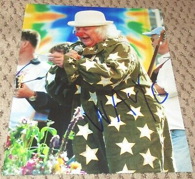Wavy Gravy Signed 8X10 Photo Autograph Auto Woodstock Wavy G