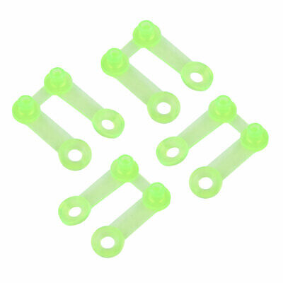 20//40Pcs Plastic Yellow Snap Clip Punch Card For Brother Knitting Machine Tool