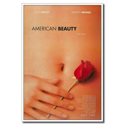 American Beauty 24x36inch Silk Classic Movie Poster Art Print Cool Gift Decor