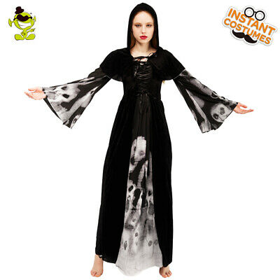 cd9f239598d50 HALLOWEEN PLUS SIZE Ghost Pattern Dress - EUR 14,62 | PicClick IT