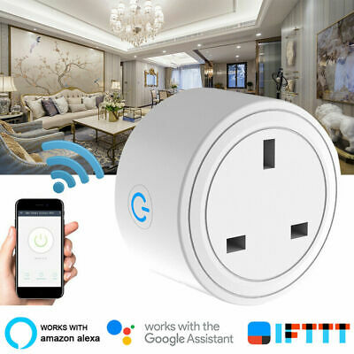 Smart WIFI Plug Socket Power Switch APP Remote Control Timer Home Automation GT4