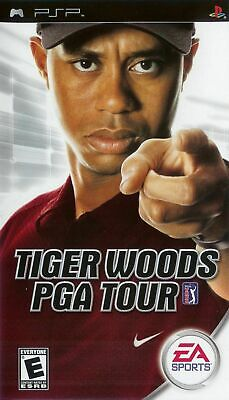 Tiger Woods PGA Tour - Sony PSP Game
