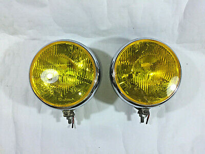 Fog Light Lamp Cluteroche Auteroche Yellow Chevrolet Truck Car Hot Rod Ford