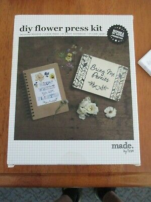 Flowers Dried Flower Press For Floral Craft Art DIY By TYPO - BRAND NEW