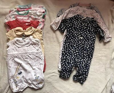Huge Bundle Of Great Baby Girl Clothes 3-6 Months mostly NEXT