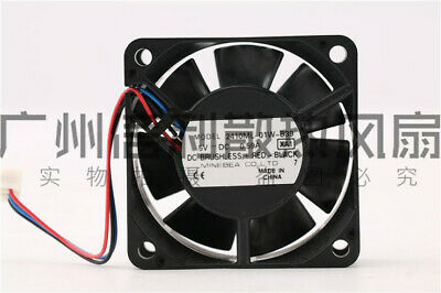 5PCS   for 2410ML-01W-B39 5VDC 0.59A NMB 6025 Double Ball Bearing Cooling Fan