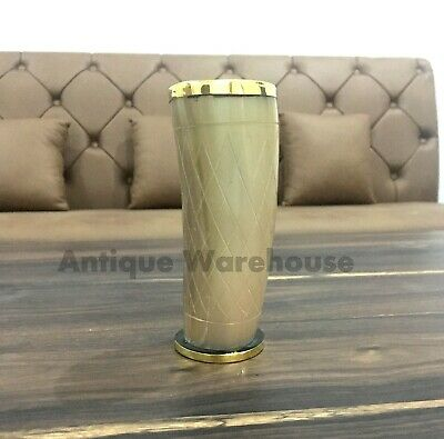 Horn Drinking Beer Style Viking super Authentic Medieval With Brass Liner Gift