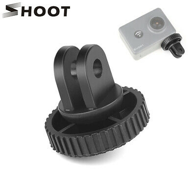 SHOOT Action Camera Mini Tripod Adapter With 1/4''Screw Mount for GoPro Sony Yi