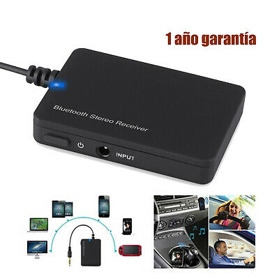 Wireless Bluetooth  Audio Music Receiver AUX Adaptador 3,5mm Dongle USB COCHE