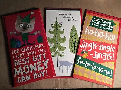 New lot 2 Hallmark Happy Father/'s Day gift card holder Boxes 0.99 WOW!!!
