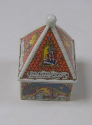 Hutschenreuther Porcelain Christmas Music Box 2000, boxed, Silent Night melody