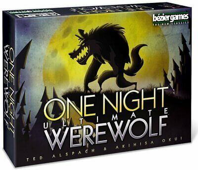 One Night Ultimate Werewolf Board Game Cards