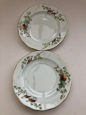 Fenton England Reproduction 'Chantilly French' 2 x Side Plates