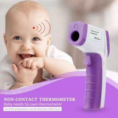 LCD Digital Non-contact IR Infrared Thermometer Forehead Body Temperature LOT BG
