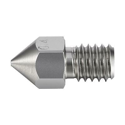 MK8 Stainless Steel nozzles various sizes