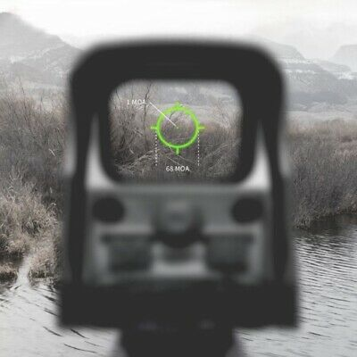 Reflex Sight AA Battery Red Green Dot Tactical Adjustable Scope Holographic