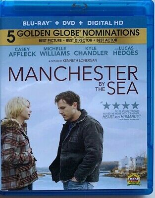 Manchester By The Sea Blu Ray Dvd 2 Disc Set Free World Wide Shipping Buy It Now