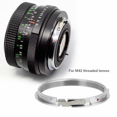 M42 Lens To Pentax PK K Mount Adapter Ring Focus Infinity M42-PK